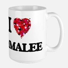 I Love Emmalee Mugs