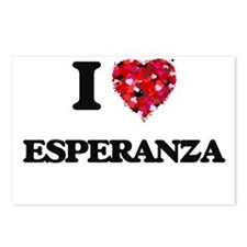 I Love Esperanza Postcards (Package of 8)