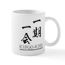 Ichi-go ichi-e: Japanese quote: yojijukugo Mugs