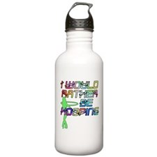 I would rather be Hoop Sports Water Bottle