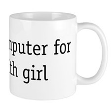will fix computer for date wi Mug
