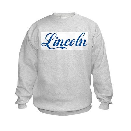 Lincoln (cursive) Kids Sweatshirt
