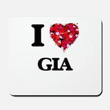 I Love Gia Mousepad
