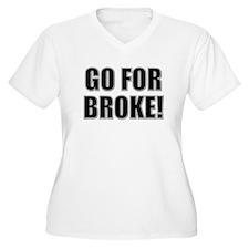 Go for broke!: 442nd Infantry Regiment Plus Size T