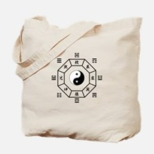 Bagua: eight trigrams used in Taoist cosmology Tot