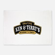 Ken and Terrys 5'x7'Area Rug