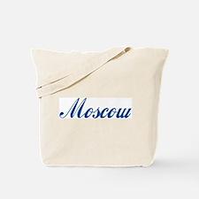 Moscow (cursive) Tote Bag