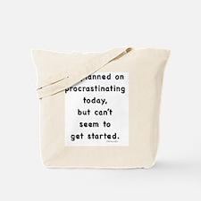 Procrastination Tote Bag