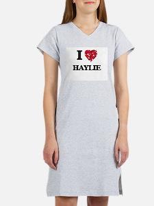 I Love Haylie Women's Nightshirt