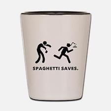 Spaghetti Shot Glass