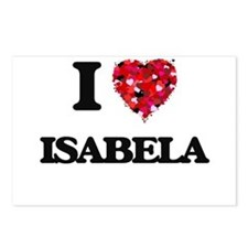 I Love Isabela Postcards (Package of 8)