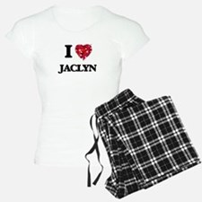 I Love Jaclyn pajamas