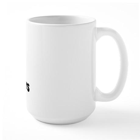 i heart computer programmers Large Mug