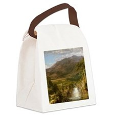 Heart of the Andes Canvas Lunch Bag