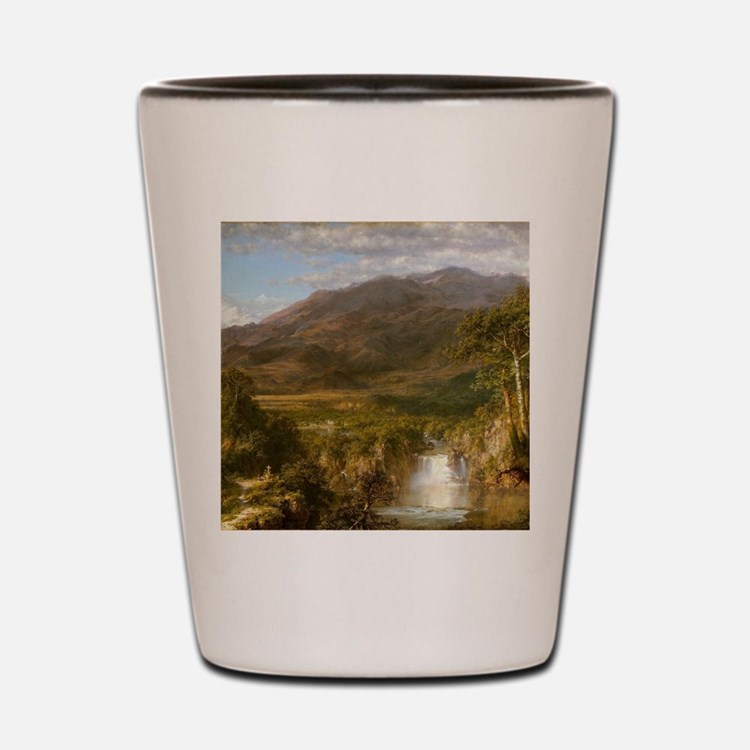 Heart of the Andes Shot Glass