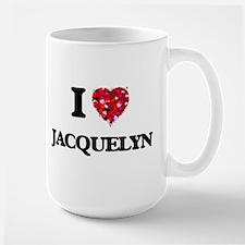 I Love Jacquelyn Mugs