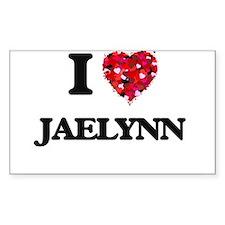 I Love Jaelynn Decal