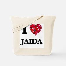 I Love Jaida Tote Bag