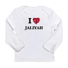 I Love Jaliyah Long Sleeve T-Shirt