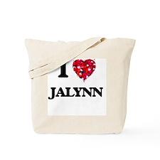 I Love Jalynn Tote Bag