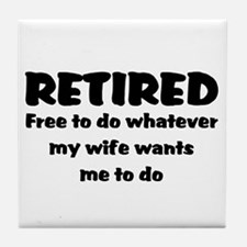 Retired Tile Coaster