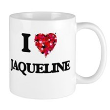 I Love Jaqueline Mugs