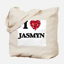 I Love Jasmyn Tote Bag