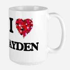 I Love Jayden Mugs