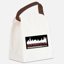 Professional White Blackground.pn Canvas Lunch Bag