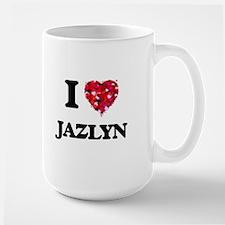 I Love Jazlyn Mugs