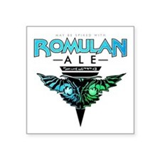 "Romulan Ale Square Sticker 3"" x 3"""