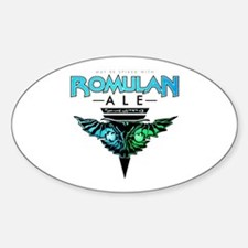 Romulan Ale Oval Decal