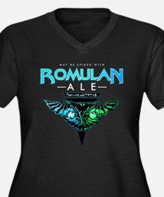 Romulan Ale Women's Dark Plus Size V-Neck T-Shirt