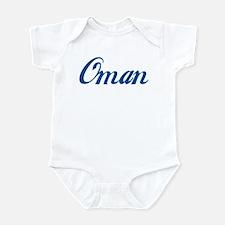 Oman (cursive) Infant Bodysuit
