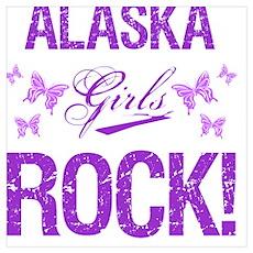 Alaska Girls Rock Poster