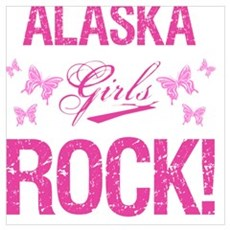 Alaska Girls Rock Poster