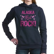 Alaska Girls Rock Women's Hooded Sweatshirt