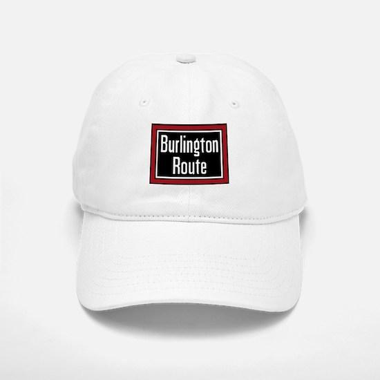 Burlington Route Baseball Baseball Cap