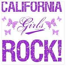 California Girls Rock Poster
