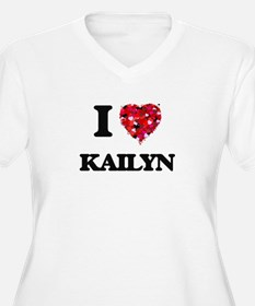 I Love Kailyn Plus Size T-Shirt