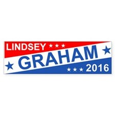 Lindsey Graham 2016 Bumper Bumper Sticker