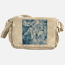 Hydrangea Flower Messenger Bag