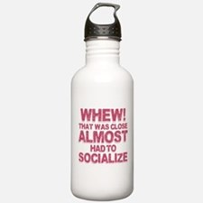 Introvert Social Anxie Water Bottle
