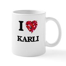 I Love Karli Mugs