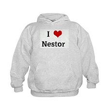 I Love Nestor  Hoody