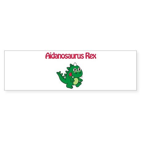 Aidanosaurus Rex Bumper Sticker