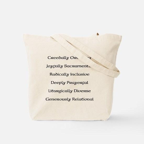 Unique Independent catholic Tote Bag