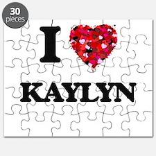 I Love Kaylyn Puzzle