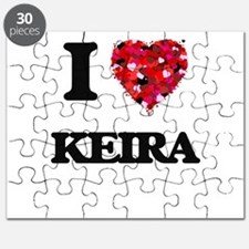 I Love Keira Puzzle