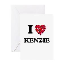 I Love Kenzie Greeting Cards